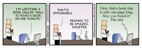 Dilbert 800.width 500 - You are too good to have a bad CV: <br/>10 tips to improve it!